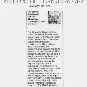 Review of 'Facets' in Sydney Morning Herald